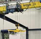 Demag EKDR wire rope hoist