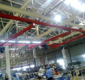 KBK single beam suspension crane